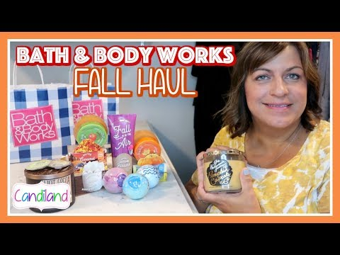 BATH & BODY WORKS FALL HAUL