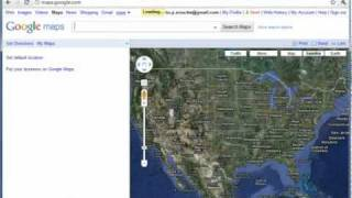 Viewing GPS coordinates on Google Maps.wmv