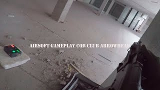 Airsoft  Games Страйкбол CQB club ARROWHEAD(Airsoft Gameplay Страйкбол [cqb club ARROWHEAD] G&G - rk 104 evo blowback страйкбол от первого лица с gopro 4 Моя партнерская программа..., 2016-06-05T17:03:37.000Z)