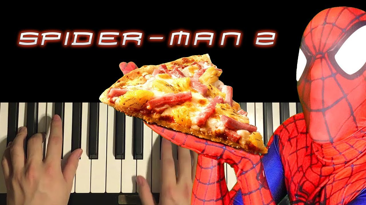 How To Play Spiderman 2 The Game Pizza Theme Piano Tutorial Lesson