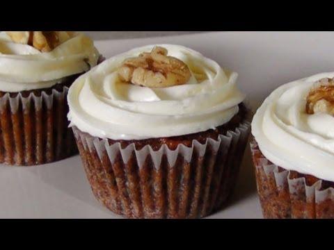 Carrot Cake Cupcakes - Gluten Free Paleo Recipe - YouTube