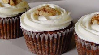 Carrot Cake Cupcakes  - Gluten Free Paleo Recipe