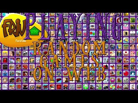 Playing Random Games On The Web Web Games Friv Com Y8 Games