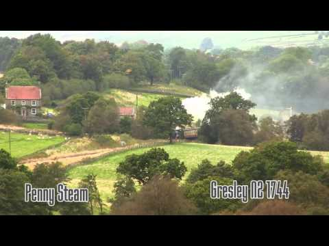 North York Moors Autumn STeam Gala 2012 Part 2