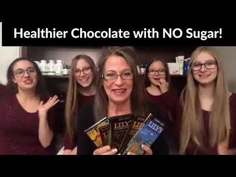 Chocolate, Chocolate and more Chocolate! With no sugar?  Can this taste good?