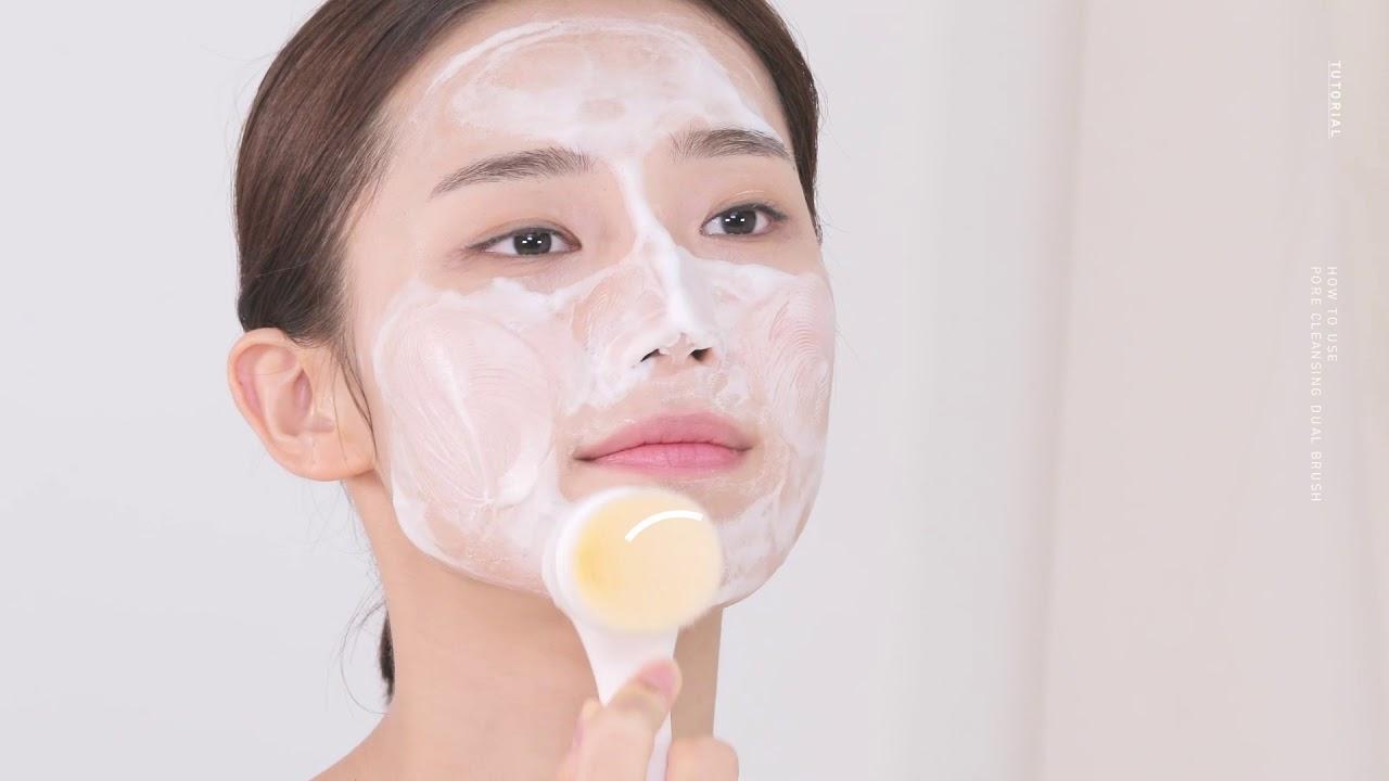26e86b6d68 Blackhead Pore Cleanser Dual Pore Brush | Nooni Tutorials - YouTube