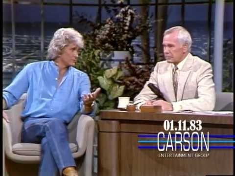 Michael Landon Suggests Johnny Carson's Star Workout on Tonight Show, 1983