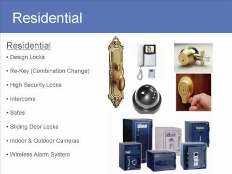 AAA Locksmith Presentation