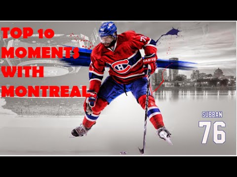 P.K. Subban - Top 10 Moments with Montreal
