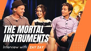 The Mortal Instruments - Lily Collins, Jamie Campbell Bower, Kevin Zegers - Zay Zay .Com