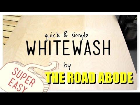 QUICK & EASY WHITEWASH (NORDIC/SCANDI SLEEK)