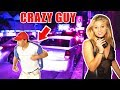 Crazy Guy Dances On Sunset! Drunk Street Interviews with Hot Girls  EP 1