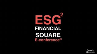 """ESG Square Conference - How Green is my """"Green"""" Investment?"""