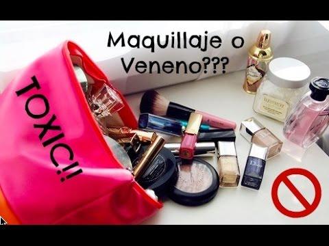 Maquillajes con / sin tóxicos, aceites y parabenos
