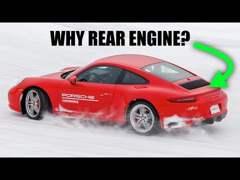Why Are Porsche 911's Rear Engine?