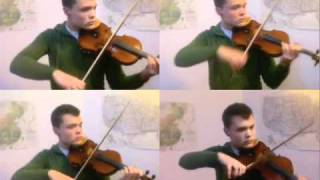 Bohemian Rhapsody, for Four Violins
