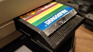 Classic Game Room - DRAGONFIRE review for Intellivision