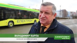 видео Тролейбусники Рівного хочуть трактор