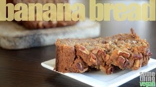 Banana Nut Bread (vegan & Gluten-free) Something Vegan