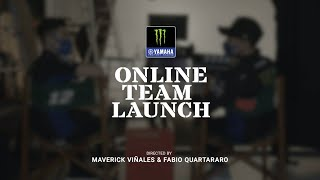 2021 Monster Energy Yamaha MotoGP Team Launch