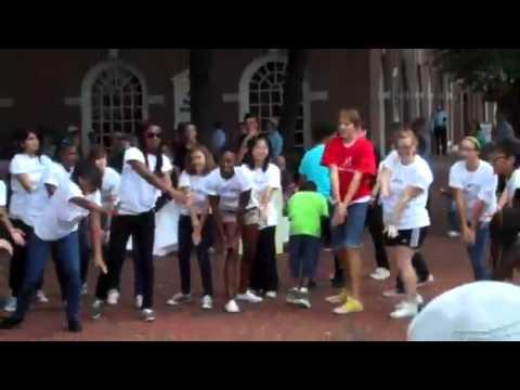 Lancaster Flash Mob September 2011