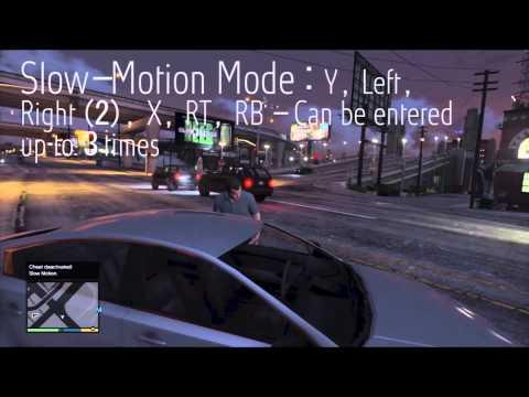 Grand Theft Auto V - Cheat Codes