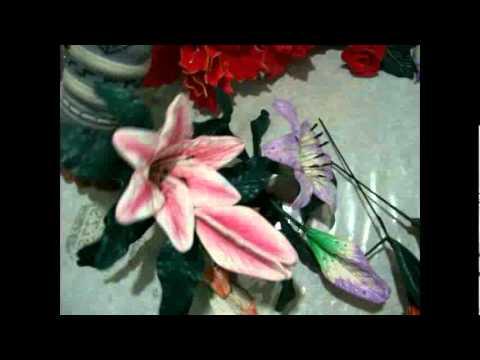 Curso goma eva foamy flores youtube - Flore de goma eva ...