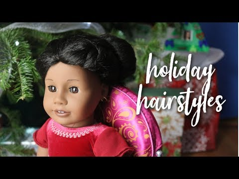 DOLL HAIRSTYLES FOR THE HOLIDAYS