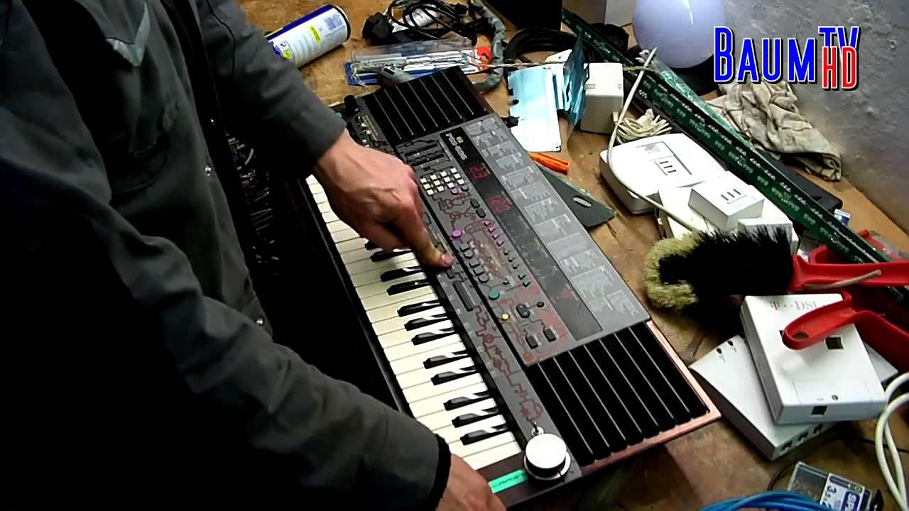Circuit Bent Yamaha Pss