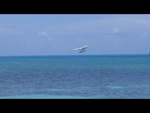 Dry Tortugas National Park, Florida - Seaplane Landing at Fort Jefferson HD (2016)