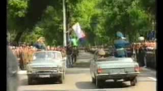 Wunsdorf: Парад посвященный выводу войск из Германии. 1994(Wunsdorf: Парад посвященный выводу войск из Германии. 27 мая 1994. Весь Вюнсдорф здесь: более 10 тысяч видео, аудио,..., 2010-01-23T23:27:54.000Z)