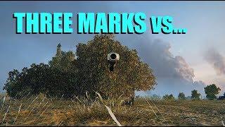 WOT - Three Marks vs Three Stooges   World of Tanks