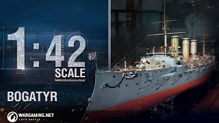 World of Warships - 1:42 Scale: Bogatyr