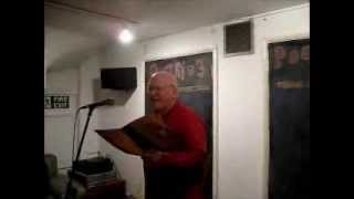 Patrick the Poet at the Poetry Cafe - Poetry @ 3 No2 (3 Apr 13)