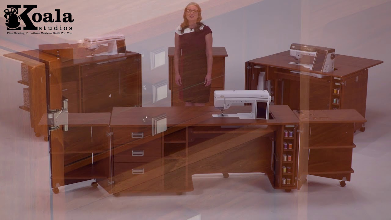 Koala Studios Storage Options Custom Sewing Cabinets