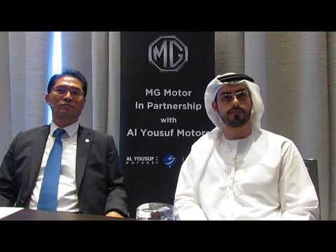MG Motors appoints Al Yousuf Motors as its UAE distributor
