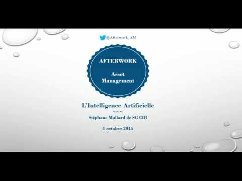 Afterwork Asset Management - Intelligence Artificielle - 01/10/2015