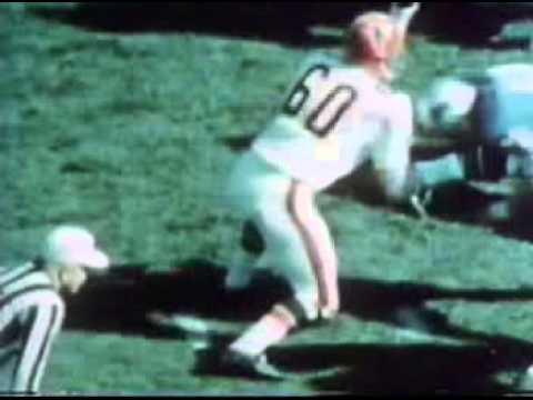 Tommy Nobis Atlanta Falcons #60 to the Pro Football HOF
