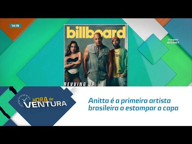 Anitta é a primeira artista brasileira a estampar a capa de revista internacional