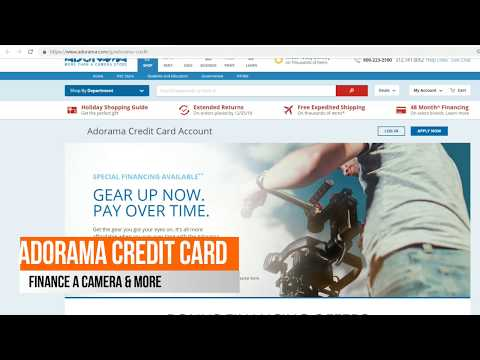 Adorama Review, Credit Card with Special Financing No Interest up to 48 Month Financing