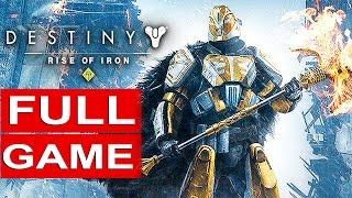 DESTINY RISE OF IRON Gameplay Walkthrough Part 1 [1080p HD PS4] FULL GAME - No Commentary