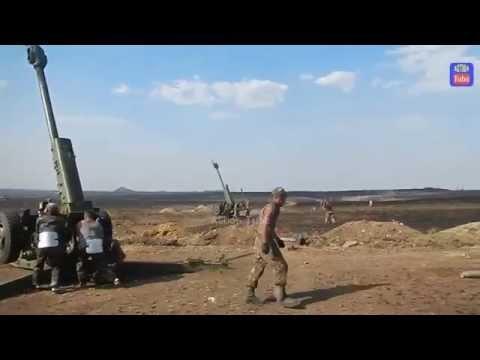 Артиллерия ополчения Новороссии. АТО