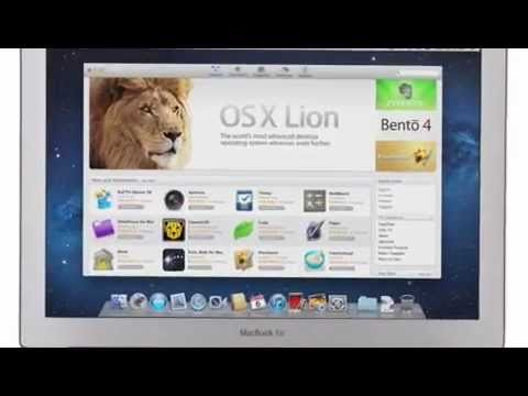 Official Apple Mac OS X Lion (10.7) Keynote Video