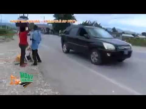 Route changement - Anse-à-Foleur / Carrefour Jòf