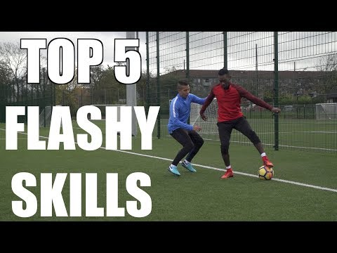 TOP 5 FLASHY SKILL MOVES TO BEAT DEFENDERS Ft. PWG, Unisport