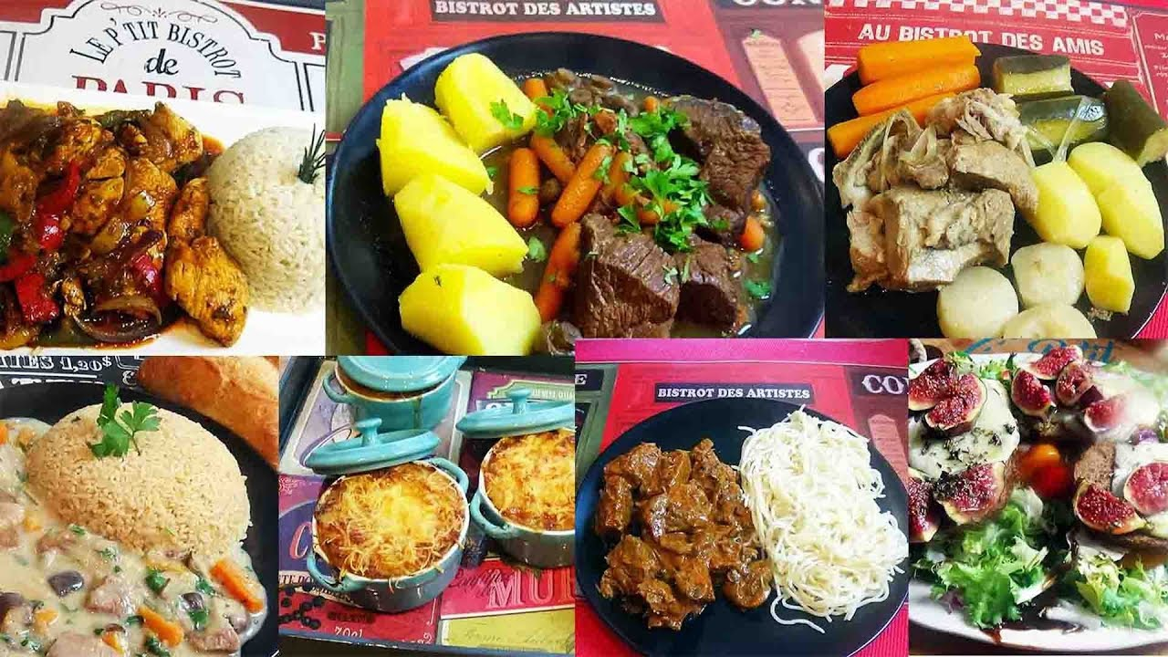 La Cuisine De Bistrot 1 semaine de cuisine bistrot rapides et faciles - recettes automne