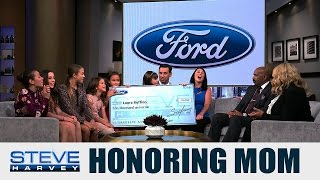 Steve Harvey & Ford honor a Game Changing Woman || STEVE HARVEY