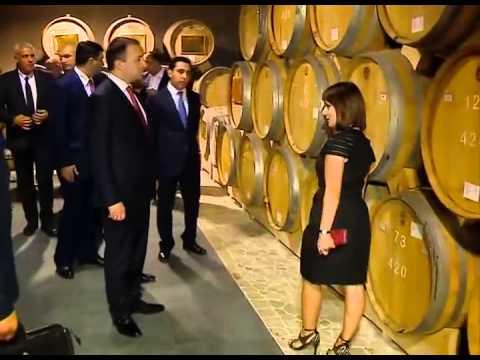 Премьер Грузии осмотрел Ереванский коньячный завод