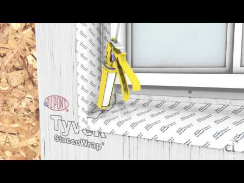 DuPont 4 in Recess Window Install
