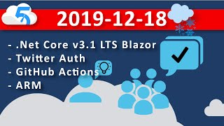 2019-12-18 (VOD) Project: Use-R-Vote - Deploying to Azure a website with social login from GitHub
